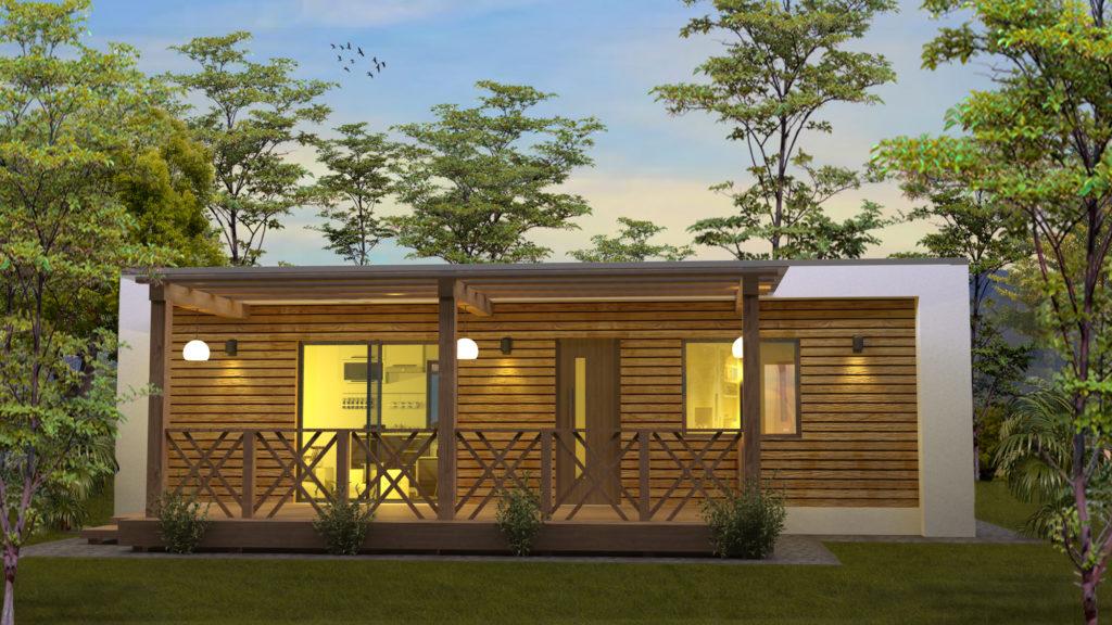modulaire vakantiewoningen RS-Housing