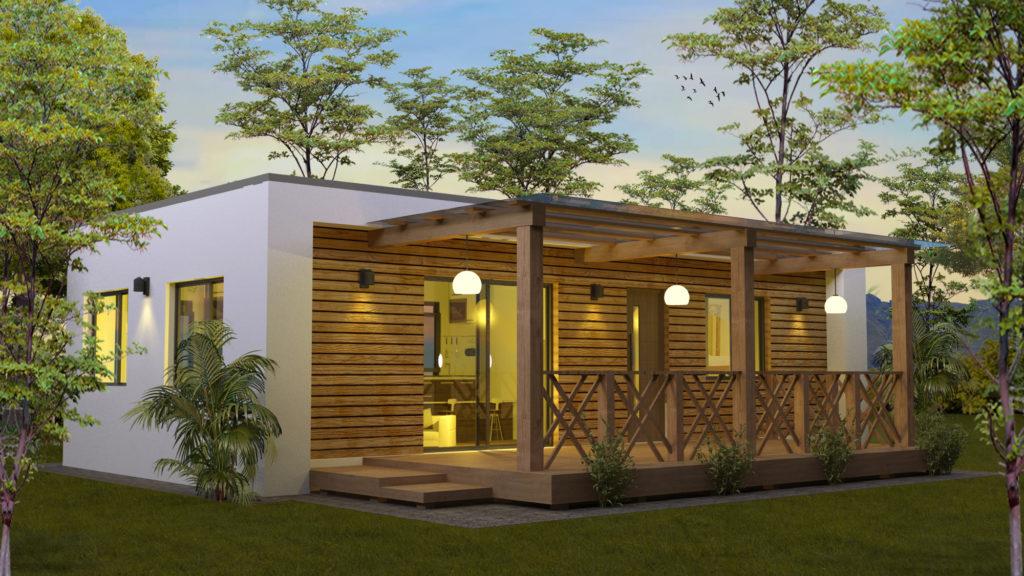 modulaire vakantiewoning van RS-Housing